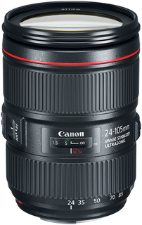 Объектив Canon EF 24-105mm f/4L IS II USM (черный)
