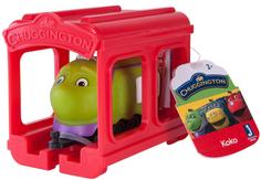 Игровой набор CHUGGINGTON Паровозик Коко с гаражом