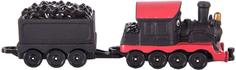 Игровой набор CHUGGINGTON Паровозик Пит с вагончиком