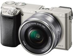 Фотоаппарат со сменной оптикой Sony Alpha 6000 Kit 16-50 mm (серебристый)