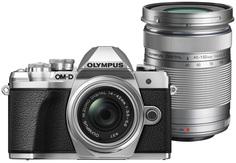Цифровой фотоаппарат Olympus E-M10 Mark III Kit ED 14-42 EZ + ED 40 150 R (серебристый)