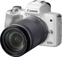 Цифровой фотоаппарат Canon EOS M50 18-150 IS STM (белый)