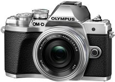 Цифровой фотоаппарат Olympus E-M10 Mark III Kit ED 14-42 EZ (серебристый)