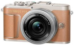 Цифровой фотоаппарат Olympus E-PL9 kit 14-42 EZ (коричневый)