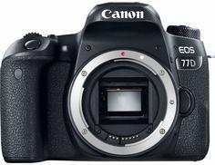 Зеркальный фотоаппарат Canon EOS 77D Body (черный)