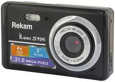 Цифровой фотоаппарат Rekam iLook S959i (черный металлик)