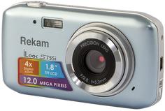 Цифровой фотоаппарат Rekam iLook S755i (металлик)