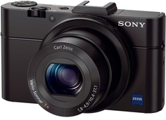 Цифровой фотоаппарат Sony Cyber-shot DSC-RX100 II (черный)