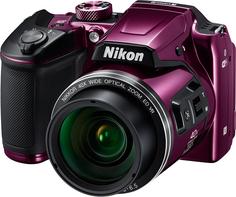 Цифровой фотоаппарат Nikon COOLPIX B500 (фиолетовый)
