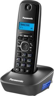 Радиотелефон Panasonic KX-TG1612 (черно-красный)