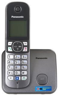 Радиотелефон Panasonic KX-TG6811 (серый металлик)