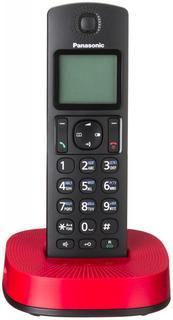 Радиотелефон Panasonic KX-TGC310 (черно-красный)