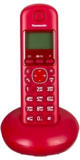 Радиотелефон Panasonic KX-TGB210 (красный)
