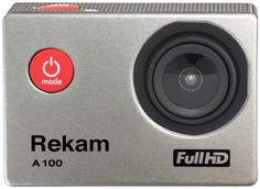 Экшн-камера Rekam A100 (серебристый)