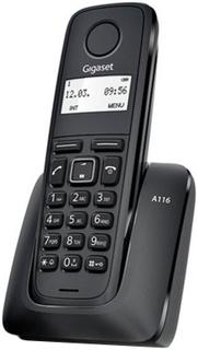 Радиотелефон Gigaset A116 (черный)