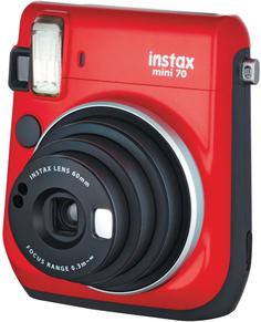 Фотоаппарат моментальной печати Fujifilm Instax Mini 70 (красный)