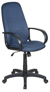 Кресло руководителя Бюрократ CH-808AXSN (черно-синий)