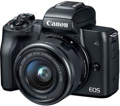 Цифровой фотоаппарат Canon EOS M50 15-45 IS STM (черный)