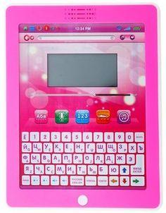 Интерактивная игрушка Play Smart Обучающий планшетный компьютер (розовый)