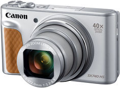 Цифровой фотоаппарат Canon PowerShot SX740 (серебристый)