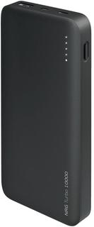 Портативное зарядное устройство Deppa NRG Turbo 10000 мАч (черный)