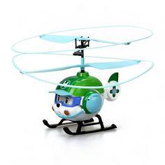 Радиоуправляемая игрушка Robocar Poli Вертолет Хэли (разноцветный)