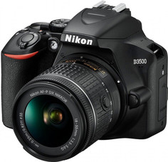Цифровой фотоаппарат Nikon D3500 + AF-P 18-55 (черный)
