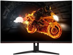 Монитор AOC Gaming C32G1 (черно-красный)
