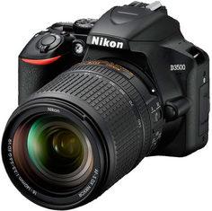 Цифровой фотоаппарат Nikon D3500 + AF-S 18-140 VR (черный)