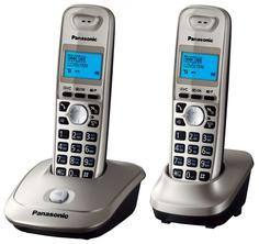 Радиотелефон Panasonic KX-TG2512 (платиновый)