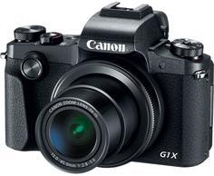 Цифровой фотоаппарат Canon PowerShot G1 X MARK III (черный)