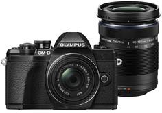 Цифровой фотоаппарат Olympus E-M10 Mark III Kit ED 14-42 EZ + ED 40 150 R (черный)