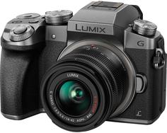 Фотоаппарат со сменной оптикой Panasonic Lumix DMC-G7 Kit 14-42mm (серебристый)