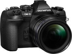 Фотоаппарат со сменной оптикой Olympus OM-D E-M1 Mark II Kit 12-40mm (черный)