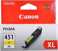 Картридж Canon CLI-451Y XL (желтый)