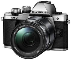 Фотоаппарат со сменной оптикой Olympus OM-D E-M10 Mark II Kit 14-150mm II (серебристый)
