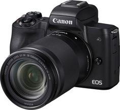Цифровой фотоаппарат Canon EOS M50 18-150 IS STM (черный)