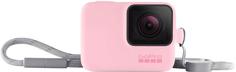 Чехол GoPro Sleeve + Lanyard с ремешком (розовый)
