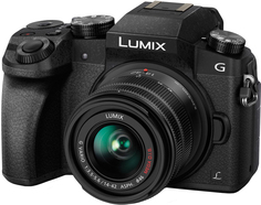 Фотоаппарат со сменной оптикой Panasonic Lumix DMC-G7 Kit 14-42mm (черный)