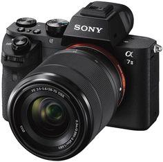 Фотоаппарат со сменной оптикой Sony Alpha A7 II Kit 28-70mm (черный)
