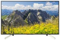 LED телевизор Sony KD-55XF7596 (черно-серебристый)