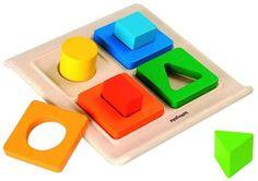 Сортер Plan Toys Формы (разноцветный)