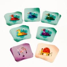 Настольная игра DJECO Безумные утки (разноцветный)