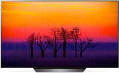 LED телевизор LG OLED55B8PLA (серебристый)
