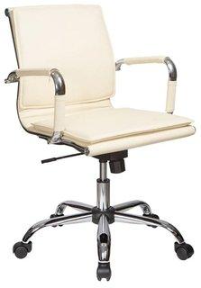 Кресло руководителя Бюрократ CH-993-LOW (слоновая кость)