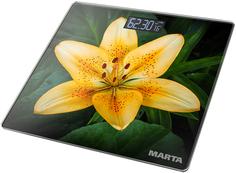 Весы MARTA MT-1676 (желтый, зеленый)