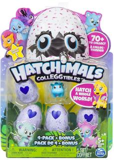 Фигурка Hatchimals Коллекционная 4 штуки + бонус