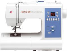 Швейная машинка SINGER Confidence 7465 (белый)