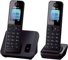 Радиотелефон Panasonic KX-TGH212 (черный)