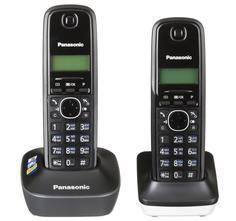 Радиотелефон Panasonic KX-TG1612 (черно-белый)